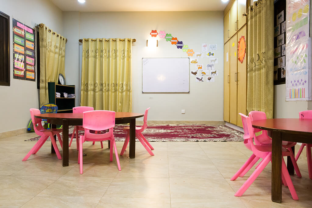 Learning room for Primary students